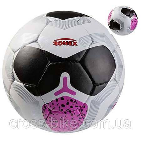 Мяч футбольный Grippy Ronex NK, черный/розовый Артикул: RXG-29NP