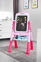 Детский мольберт для рисования Caretero Pink, фото 1