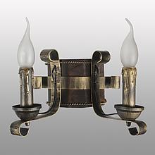 Бра настінне 2 свічки Е14 серії Кування Свічка 680322