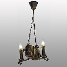 Люстра підвісна 2 свічки Е14 серії Кування Свічка 690322
