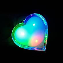 Нічник VARGO LED RGB Серце