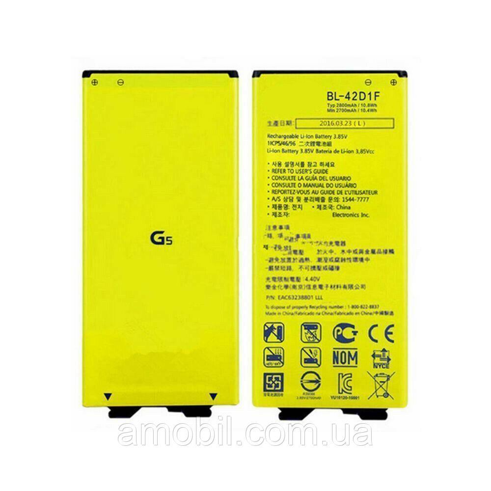 Акумулятор LG G5 H820 / H830 / H850 / H860 / LS992 / US992 / VS987 (bl-42d1f) orig