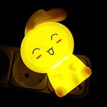 Нічник VARGO LED Заєць Жовтий