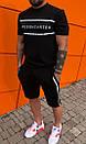 Мужской комплект шорты+футболка+худи, фото 4