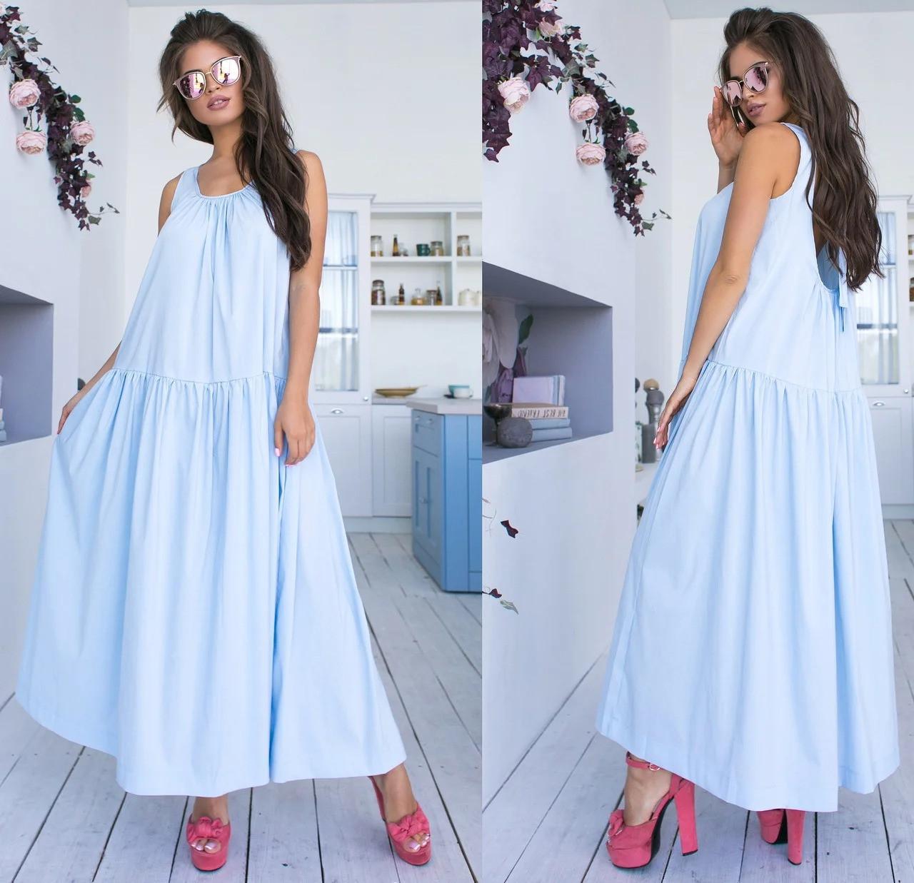 Вільний літнє плаття
