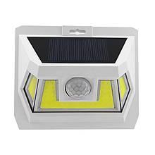 LED світильник на сонячній батареї VARGO 8W c датчиком