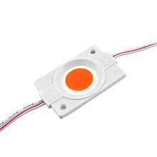 LED модуль PROlum СОВ-led 2.4 Вт Червоний 12В, IP65 без лінзи