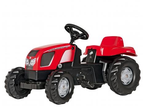 Детский трактор на педалях, веломобиль Rolly Toys rollyKid Zetor Forterra135