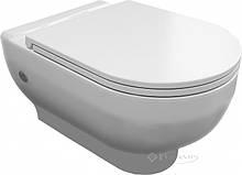 Унитаз Volle Virgo 54x36,5x40 подвесной rimless + сиденье slim soft-close(13-23-455)