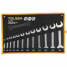 Набір ключів Tolsen ріжкових в чохлі 12 шт
