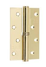 Петля знімна FZB ліва 100*62*2.5 мм PB Золото