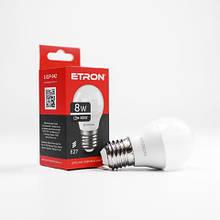 Лампа светодиодная ETRON Light Power 1-ELP-042 G45 8W 4200K 220V E27