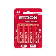 Батарейка ETRON Mega Power АА-LR6 Blister Alkaline 8 шт