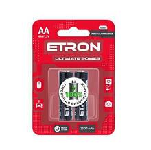 Акумулятор ETRON Ultimate Power AA 2500mAh Ni-Mh Ready 2Use Blister 2 шт