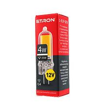 Лампа світлодіодна ETRON Power Light 1-ELP-078 G4 Glass 4W 4200K 12V