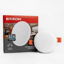 Світильник ETRON 1-EDP-605 12W 5000К ІР20 коло