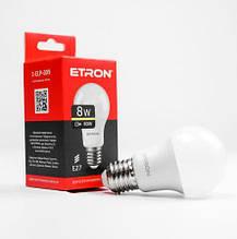 Лампа світлодіодна ETRON Power Light 1-ELP-009 A55 8W 3000K E27