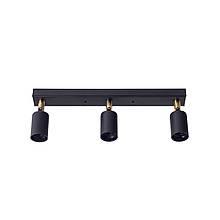 Люстра стельова Atma Light серії Chime L60-3 Black