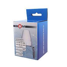 Датчик освітлення BIOM PHS -07 max 2400Вт, 10А, сутінковий