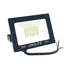 Прожектор LED UNILITE 20W 220V 1600lm 6500K