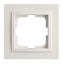 Рамка 6-я, Mono Electric, DESPINA Білий