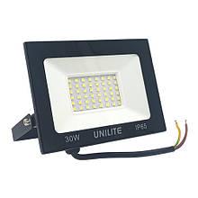 Прожектор LED UNILITE 30W 220V 2400lm 6500K