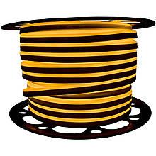 """Світлодіодний неон PROLUM Silicone 2835\120 8x16 IP68 12V SERIES """"SF"""" PRO Жовтий"""