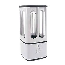 Ультрафіолетовий світильник VARGO для дезінфекції і стерилізації портативний з озоном 3.8 W USB Білий