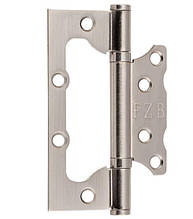 Петля дверна метелик FZB & 100*75*2.5 мм \ SN Сатин