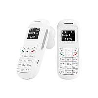 Мини телефон Bluetooth гарнитура GTStar BM70 Белый