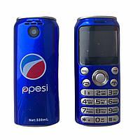 Мини телефон Bluetooth Гарнитура GTStar K8 X8 Pepsi Синий