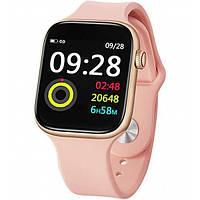 Smart Watch Lige W4 Rose Gold Смарт Часы с Пульсометром Шагомером для Android и iOS