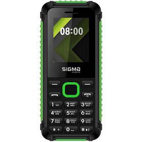 Sigma mobile X-style 18 Track Black-Green