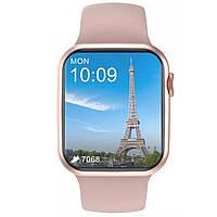 """Смарт Часы No.1 DT100 Gold HD 1.75"""" экран Bluetooth-вызов Бежевые Женские"""