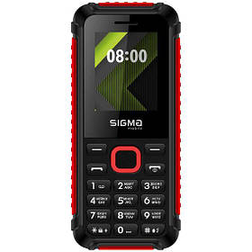 Sigma mobile X-style 18 Track Black-Red