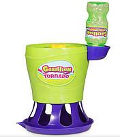 """Машина для мильних бульбашок Gazillion автоматичний """"Торнадо"""", в наборі р-р 118мл"""