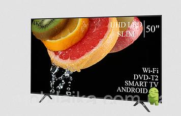 "ТЕЛЕВІЗОР HISENSE 50"" Smart-TV ULTRA HD T2 USB Гарантія 1 РІК!"