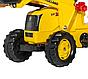 Детский трактор на педалях, веломобиль с ковшом ROLLY TOYS, фото 4