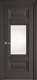 Двері Новий Стиль Шарм Р2 з малюнком Антрацит, 800