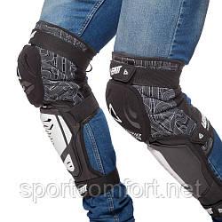 Наколінники для мотокросу (коліно, гомілка) 2шт Leatt hybrid 3df