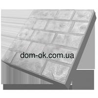 Термопанели фасадные на пенопласте , фактура Луганский камень, размер 500х500 мм, толщина 150 мм
