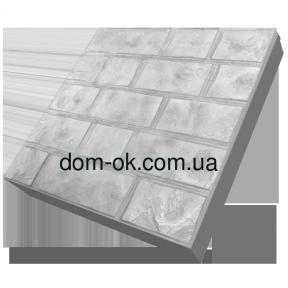 Термопанели фасадные на основе ваты , фактура Луганский камень, размер 500х500мм,толщина 100 мм