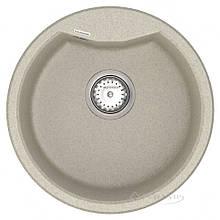 Кухонная мойка Vankor Vena 47,5x47,5 terra + сифон (VMR 01.48)