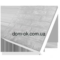 Термопанели фасадные на пенопласте , фактура Колотый кирпич, размер 500х500мм, толщина 50 мм