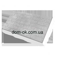 Фасадные термопанели на основе ваты , Старый кирпич, размер 500х1000мм, толщина 100 мм