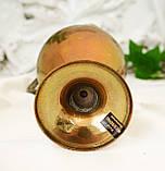Винтажный бронзовый кувшин с ручкой, бронза, литье, Германия, 21 см, фото 7