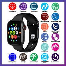 Смарт годинник Розумні годинник Smart Watch T500 Plus з сенсорним екраном і пульсометром голосовий виклик