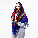 Українська хустка з тороками 120х120см, фото 5