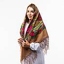 Українська хустка з тороками 120х120см, фото 6