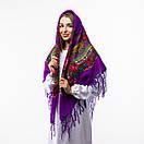 Українська хустка з тороками 120х120см, фото 8